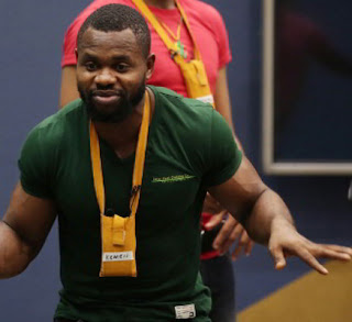 #BBNaija: Kemen disqualified for sexual offence