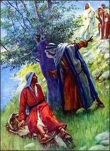 Jesus calls Philip & Nathaneal - William Hole
