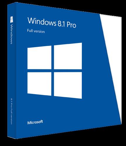 โหลด Windows 8.1 Pro x86 x64