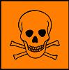 simbol bahan kimia berbahaya Toxic (Beracun)
