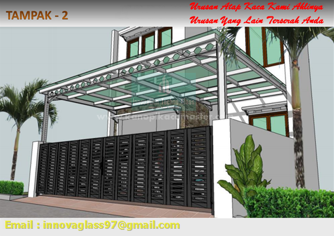 Harga Kanopi Kaca Murah Untuk Bangunan Idaman Pasang Kanopi Kaca
