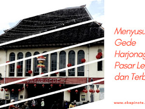 Menyusuri Pasar Gede Harjonagoro, Pasar Legendaris dan Terbesar Solo