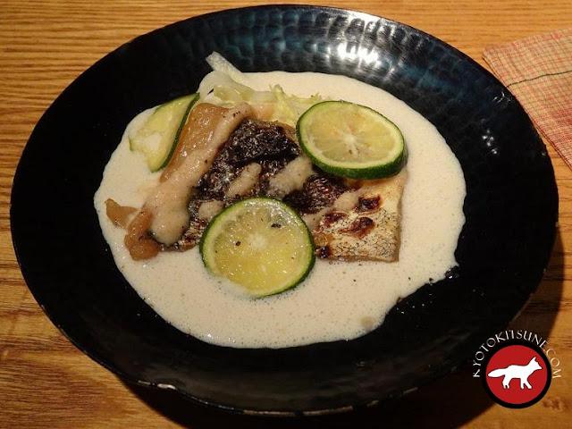 Assiette de Guilo Guilo à Kyoto