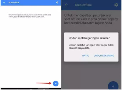 Download maps offline
