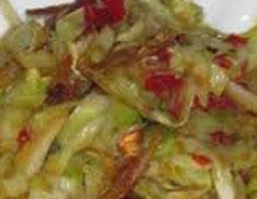 Resep masakan indonesia tumis kol spesial (istimewa) praktis mudah sedap, lezat, enak, gurih nikmat