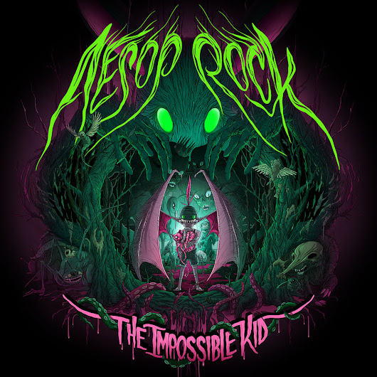 "The pit of continuous ramblings (and U.D. news).: Aesop Rock comes back to bang us in the head with ""The Impossible Kid""."