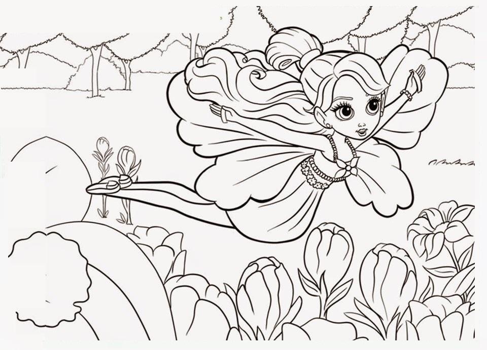Desenhos Para Colorir E Imprimir: Desenhos Da Barbie