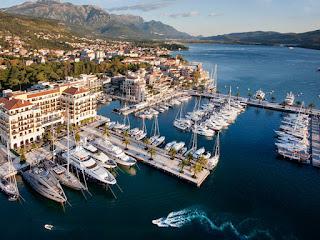 Berth booking in Porto Montenegro