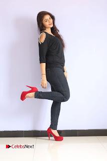 Actress Kiran Chetwani Pictures in Black Jeans at Lakshmidevi Samarpinchu Nede Chudandi Platinum Disc Function  0163.JPG