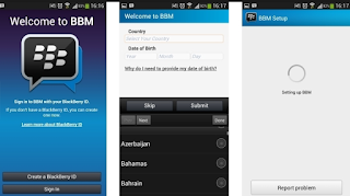 Cara Daftar BBM di Android