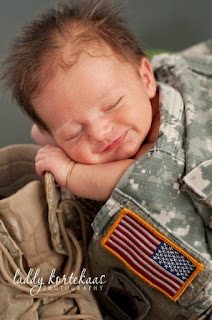 Military Army Baby super cute!