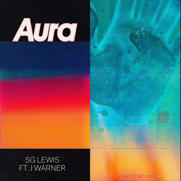 SG Lewis - Aura (feat. J Warner) - Single Cover