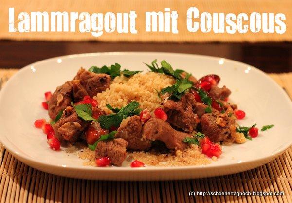 Lammragout mit Couscous