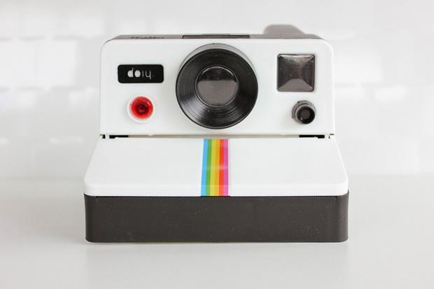 Porta papel higiênico de polaroid - NewChic