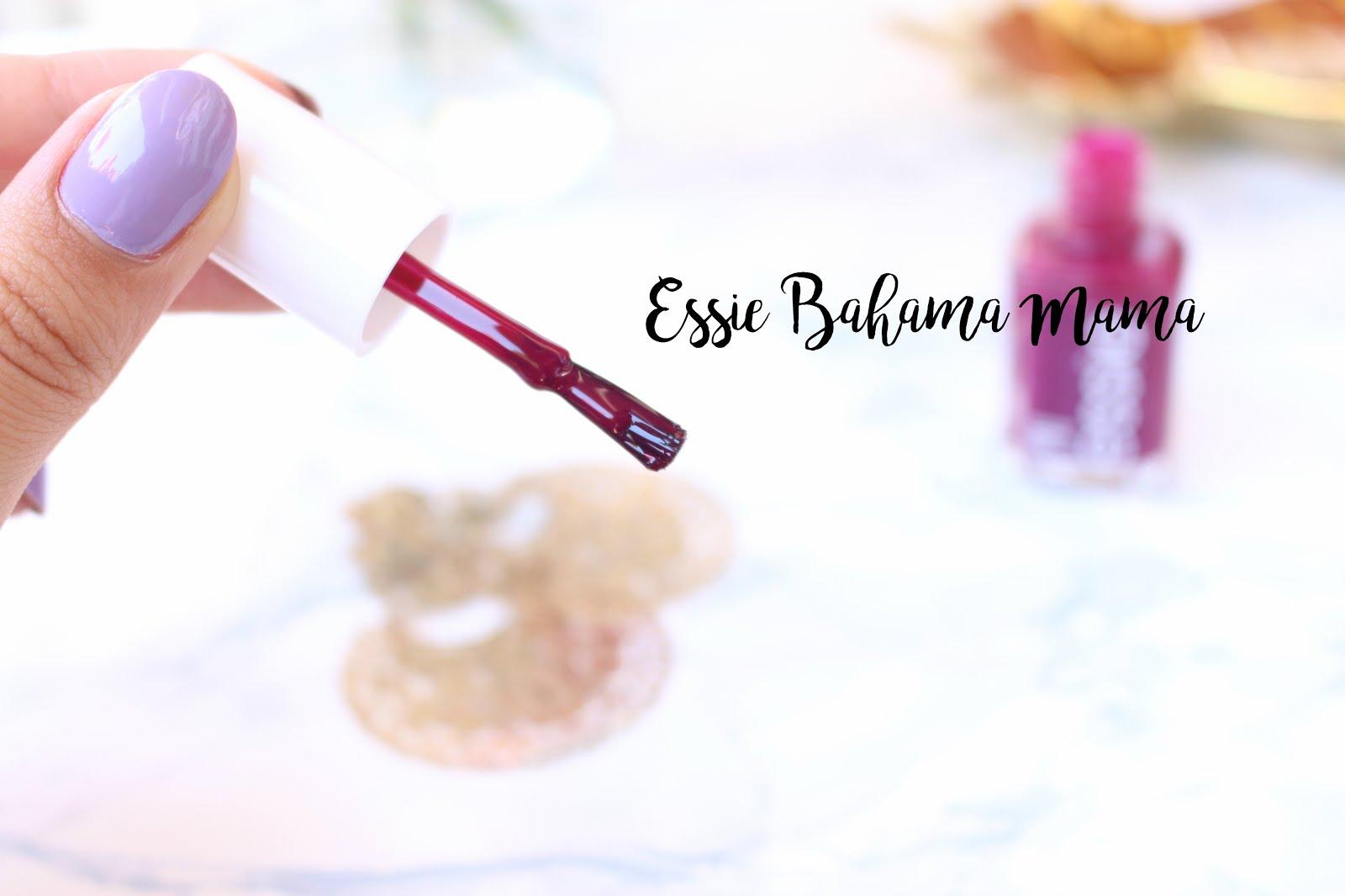 essie bahama mama,  essie nail polish bahama mama, bahama mama