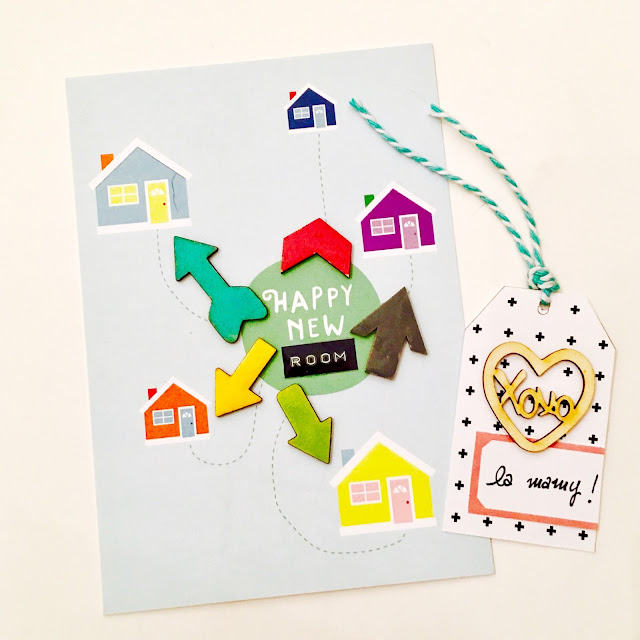 Happy New Room Weekly Planner by Angela Tombari for Yuppla Craft