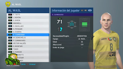 PES 2019 PS4 51 Hidden Players by Junior Mantis & TheViper12