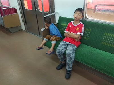 kereta commuter line sepi