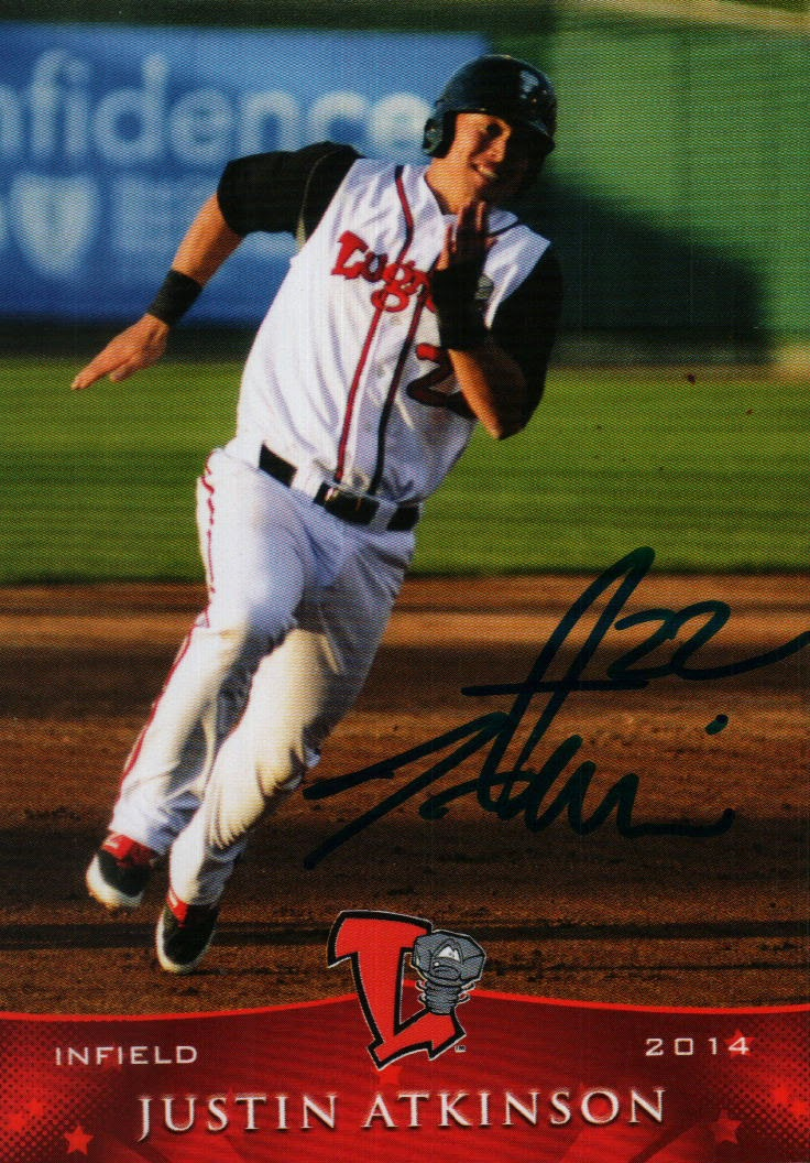 Jacksons Autographs Ip Lansing Lugnuts Autograph Baseball