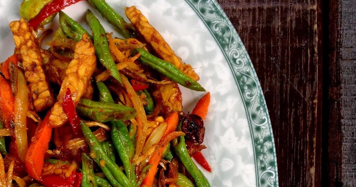 Mori's Kitchen: Sambal Goreng Sayur Kacang Panjang