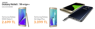Samsung Galaxy Note 5 ce Galaxy S6 Edge Plus