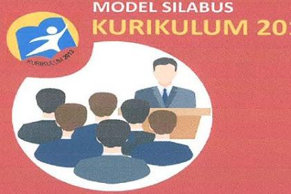Modul Silabus Tematik Terpadu Kurikulum SD/MI Tahun 2019