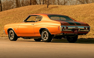1971 Chevrolet Chevelle Malibu SS Rear Left