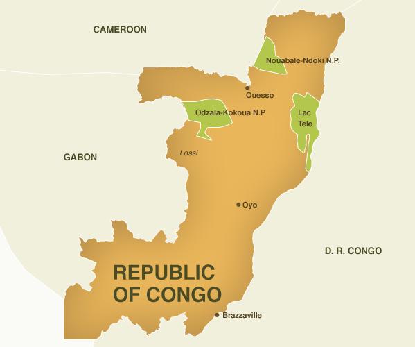 Congo | Mapas Geográficos do Congo