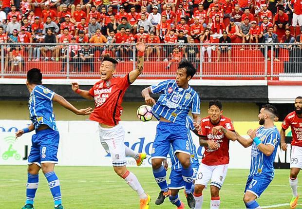 Pertahanan Persiba Sempa Buta Bali United Kerepotan