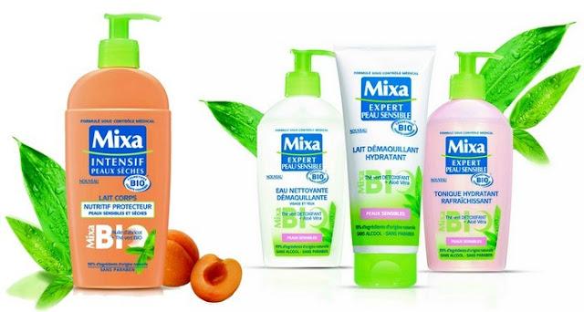 mixa gamme bio