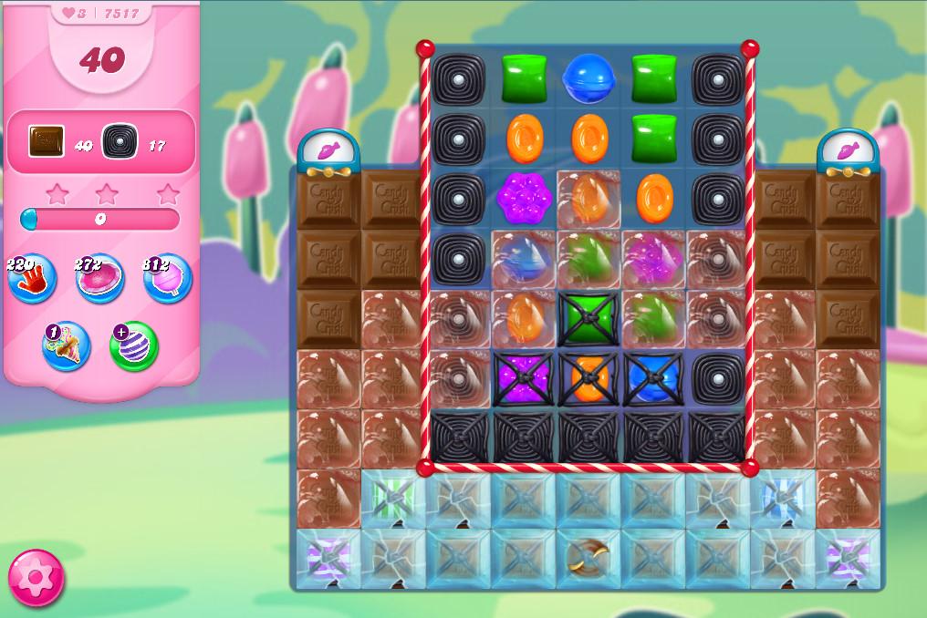 Candy Crush Saga level 7517