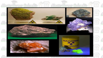 propiedades del mineral radioactivo