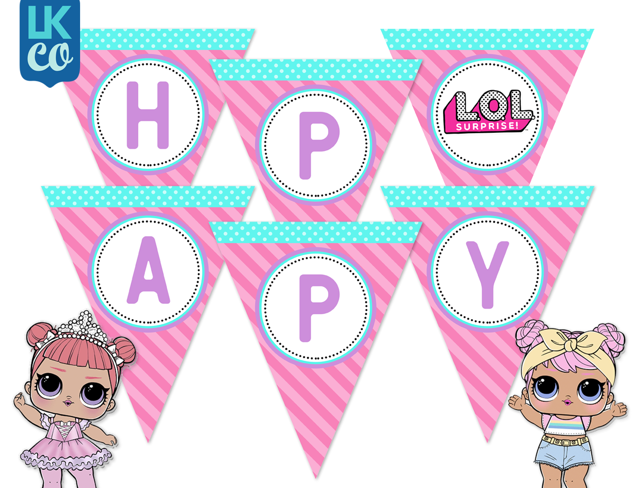LOL Surprise Party Printables & Custom Designs Available!