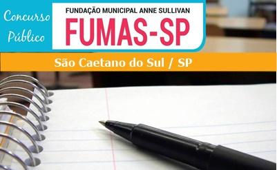 Concurso FUMAS - Fundação Municipal Anne Sullivan {Edital e Inscrições}