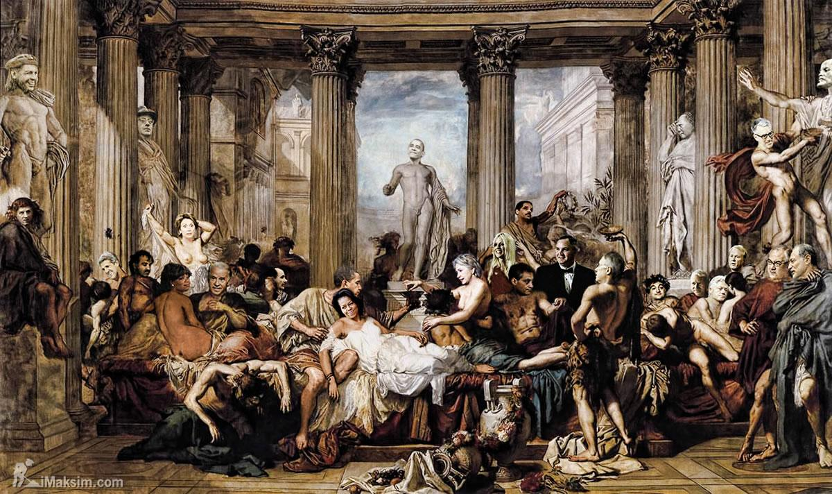 NESARA- REPUBLIC NOW - GALACTIC NEWS: Fall Of The Roman ...