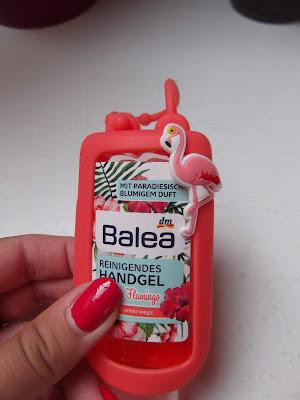 Balea antibakteriálny gél na ruky Fescher Flamingo