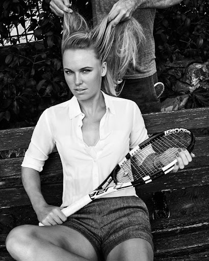 Caroline Wozniacki photo shoot for Esquire Magazine June July 2016