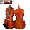 D Z Strad Viola Model 101 Handmade with Case and Bow-15 Inch