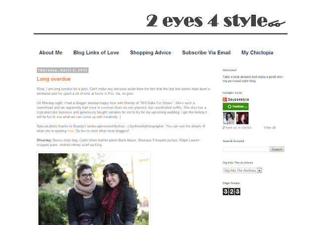 2 Eyes for Style x Will Bake for Shoes