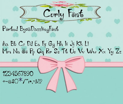Curly Font itz For Vivo Smartphone