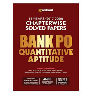 Arihant BANK PO Quantitative Aptitude Chapterwise Solved Paper (English Edition)
