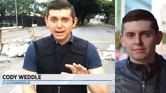 Deportan al Periodista Estado Unidense detenido por gobierno de Maduro en Venezuela.