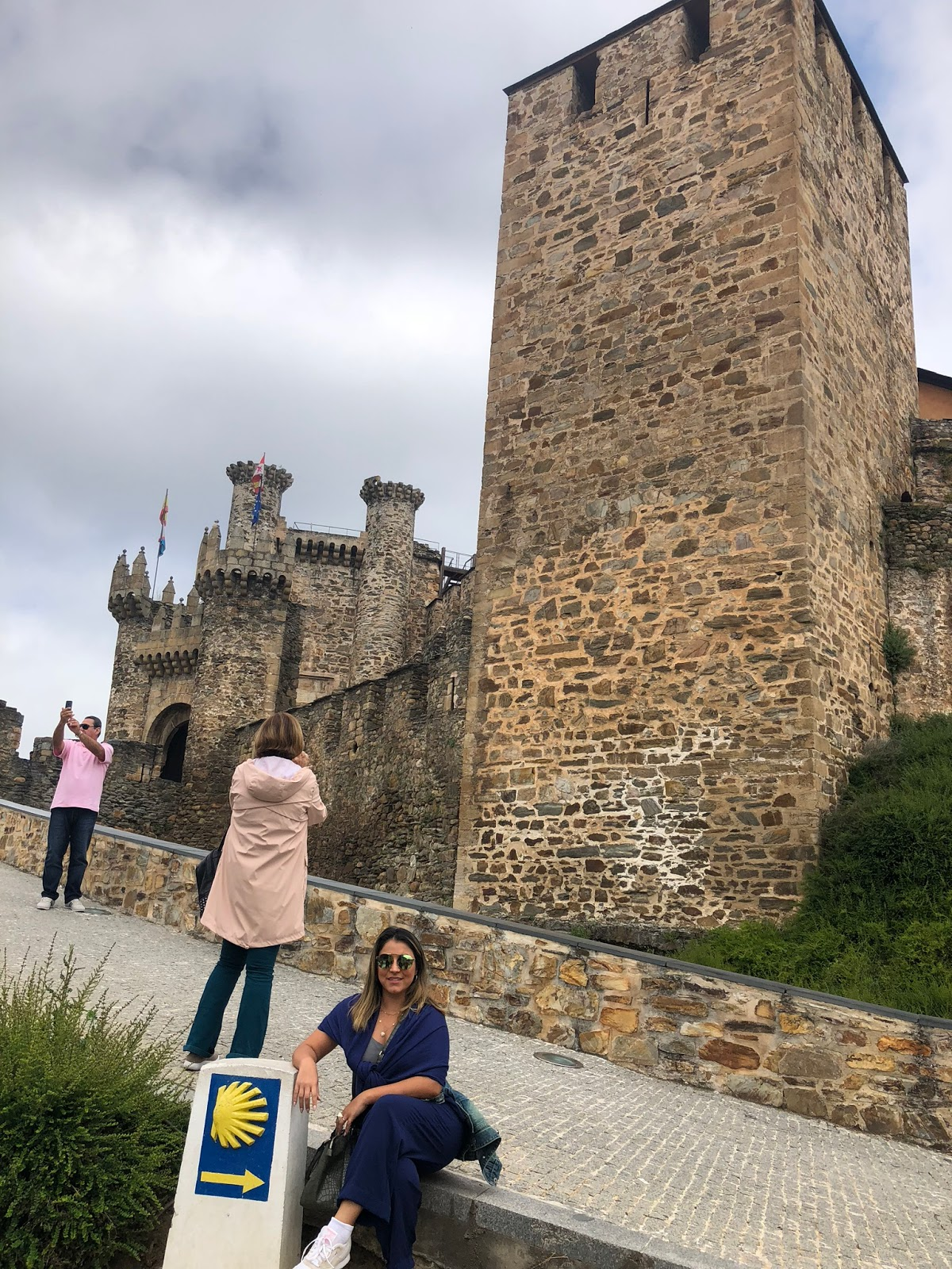 Castelo dos Templários em Ponferrada e Centro Histórico de Leon