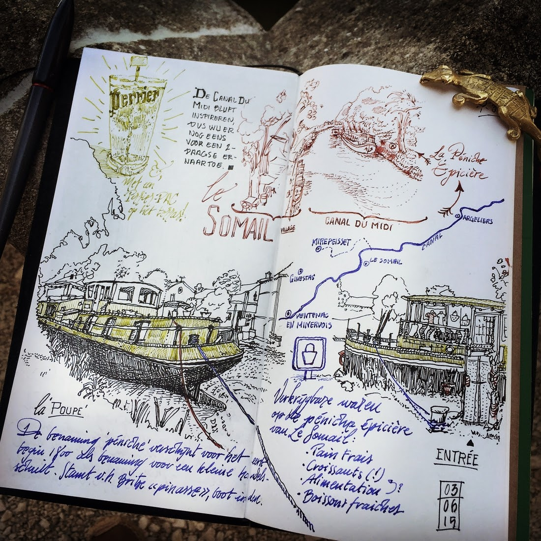 07-Le-Somail-dessinauteur-Urban-Sketches-and-Travel-Journals-on-Moleskine-www-designstack-co