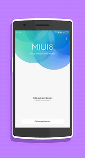 Download Custom ROM MIUI 8 Global Stable Advan Star 5 S5M