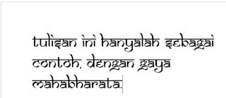 Font Mahabharata Untuk PC - Gambar 3