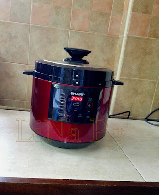 Pressure cooker sharp, cara masak guna pressure cooker sharp