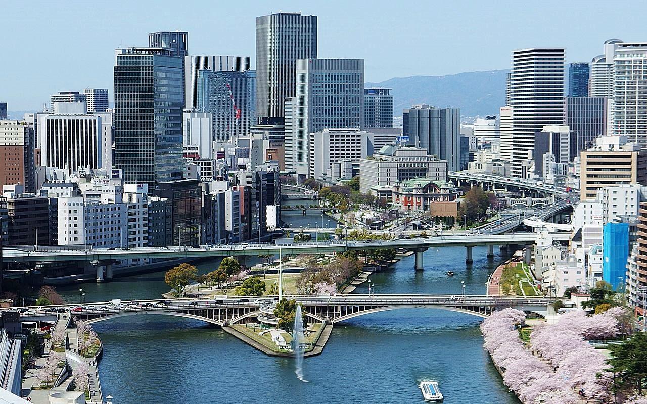 大阪-景點-推薦-中之島公園-Nakanoshima-Park-自由行-必遊-必去-旅遊-觀光-行程-日本-osaka-tourist-attraction-travel