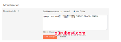 How To Create Ads.txt On Blogger Blog