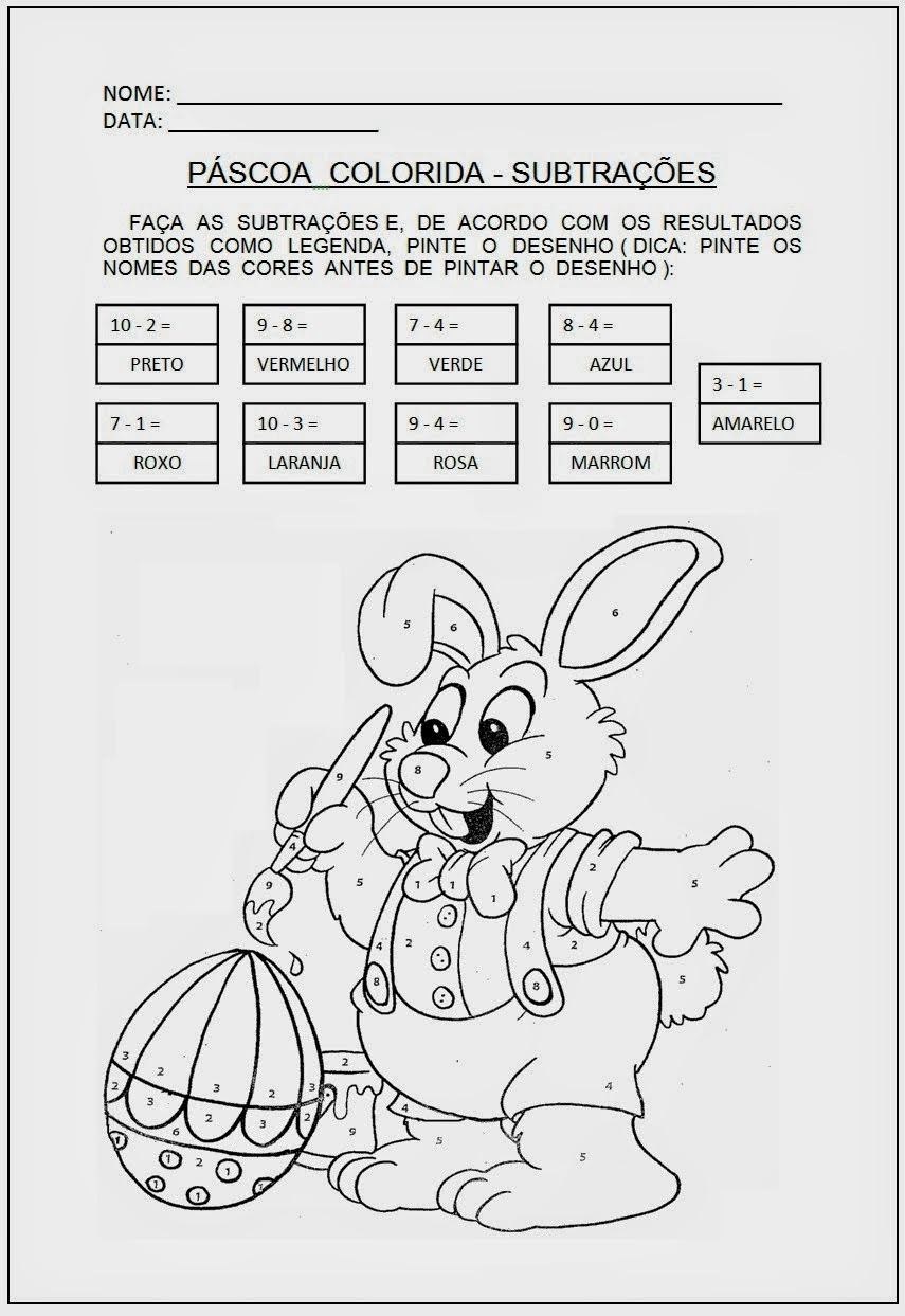 Canto da Tia Quel: Atividades para a Páscoa encontradas na net